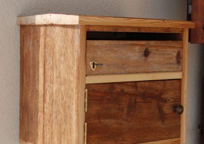 boite aux lettres en bois