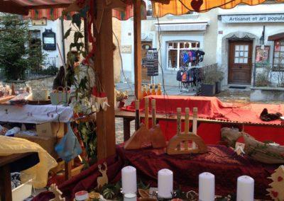 stand au marché de Noel
